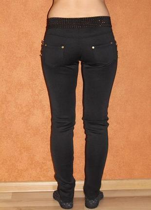 Стильные стрейчевые брюки лосины на осень  из дайвинга без флиса, размеры 42,44,46,48, снизили цену3
