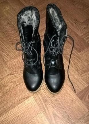 Осенне-весенние ботинки tally weijl