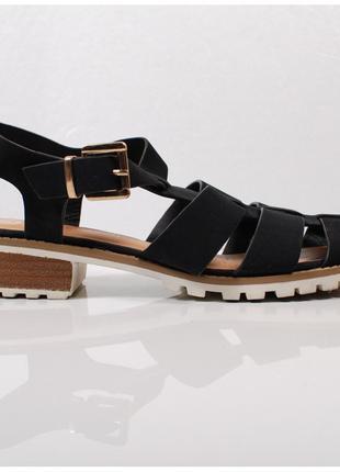 Модные и универсальные сандалии в стиле «гладиаторов»    sh39021    river island