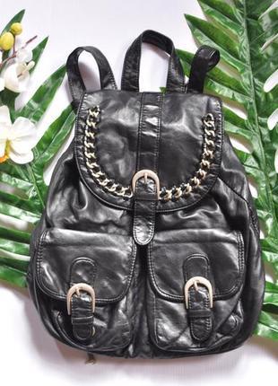 Чорний рюкзак під шкіру atmosphere