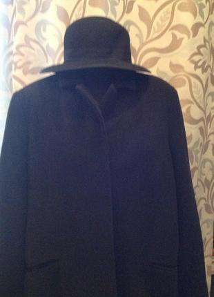 Большой размер, батал, кашемировое пальто бренда h&m, р.58 стиль оверзайз