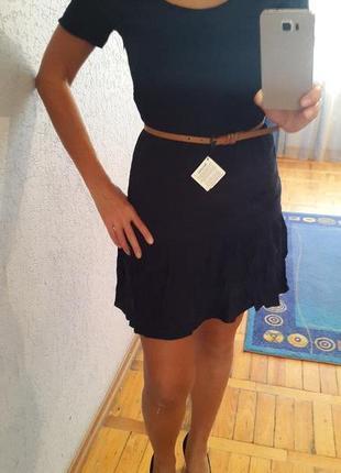 Темно синее платье berchka