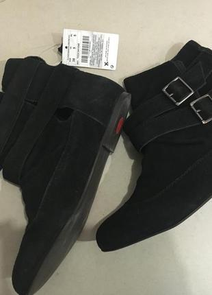 Классные замшевые ботинки и еще много интересного в моей шафе
