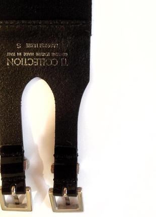 Пояс кожаный на резинке tj collection