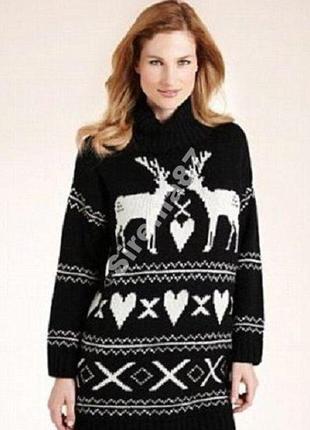 №10 свитер с оленями