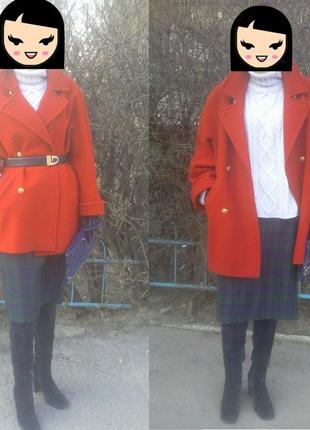 Бойфренд пальто marks & spencer
