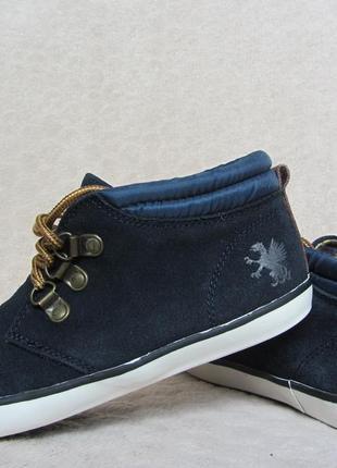 Кожаные ботинки на нат. подкладке next оригинал р-36 стелька 23 см.