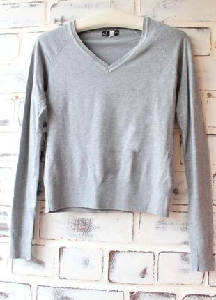 Новенький серый джемпер от new look