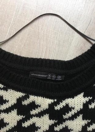 Модный теплый свитер