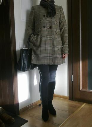 Пальто бойфренд h&m