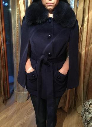 Пальто balizza с мехом