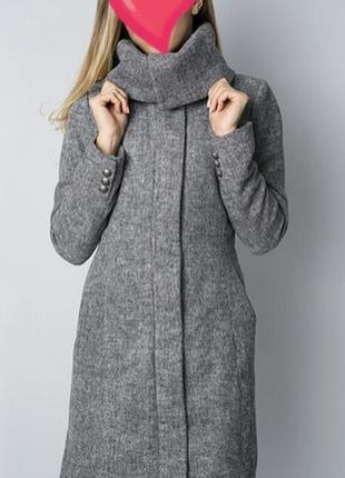 Супер теплое шерстяное пальто