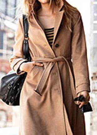 Пальто классическое н&м