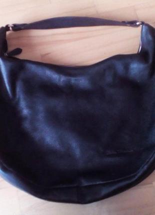 Классная итальянская кожаная сумочка