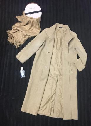 Светлое oversize-пальто от marks & spencer