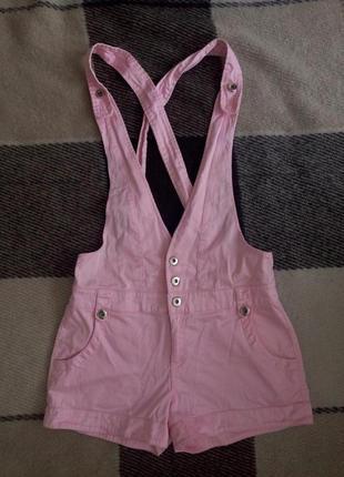 Розовый комбинезон oodji