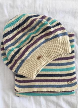 Мегакрутезний набір шапочка і шарфік