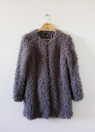 Пушистое  пальто reserved