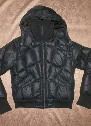 Зимняя куртка на пуху р.46-48