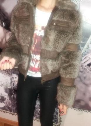 Модна супер шубка-курточка!!!