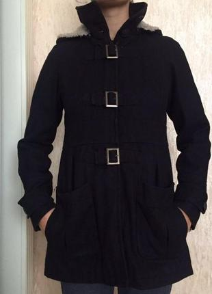 Кашемировое пальто bershka