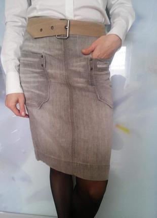Джинсовая  юбка diesel (сток)