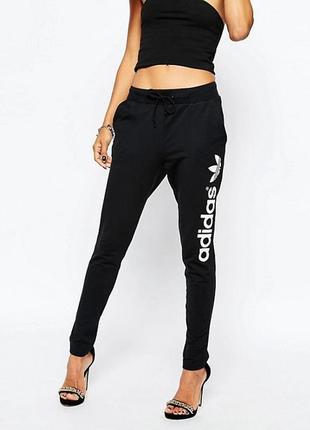 Фирменные спортивные брюки, adidas, 95% хлопок