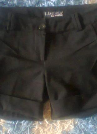 Короткие шорты la&b&la осень-зима xs-s