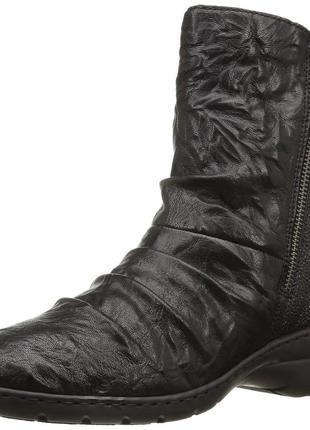 Модные полусапоги rieker z4354-00 в стиле милитари