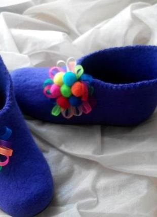 Ботинки войлочные