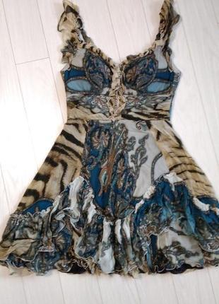 Новое короткое платье zara