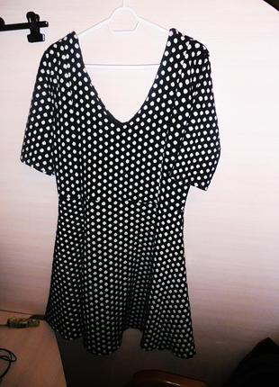 Теплое платье river island! размер 16!