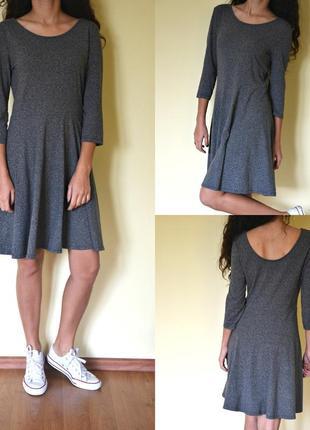 Базова сіра сукня h&m! маст-хев )