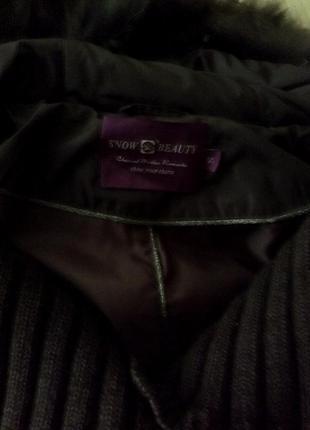 Зимняя брендовая курточка