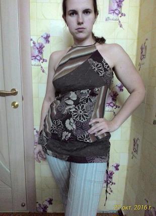 Невесомая блуза блузка майка туника next (12р.)