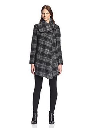 Стильное пальто из шерсти,oversize