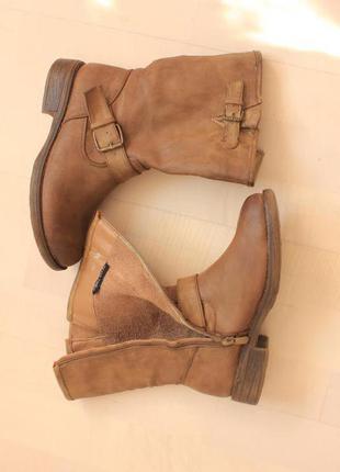 Демисезонные ботинки полусапожки на флисе, super mode