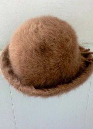 Шляпа  из  ангоры от  английского  бренда  kangol.