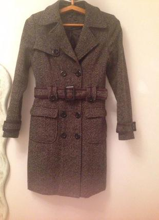 Классическое базовое пальто zara s/m