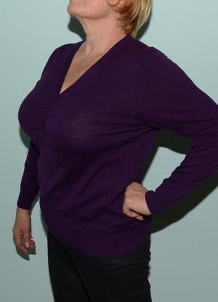 Фиолетовый свитер modissa