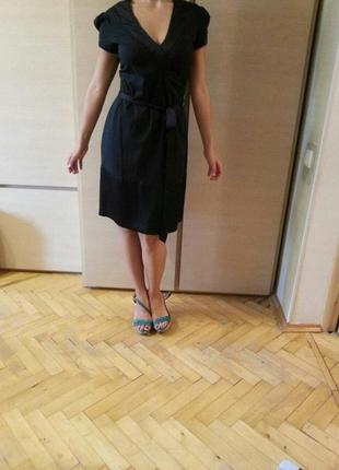 Брендовое платье mitch'sco черное вечернее деловое,черного цвета