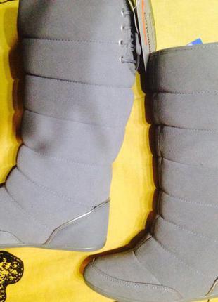 Зимние сапоги замшевые adidas northern boot w 36р, оригинал