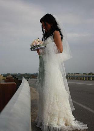 Свадебное платье дизайнерское супер цена срочно