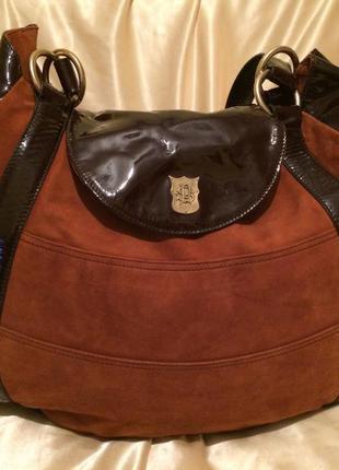 Замшевая сумка paul smith оригинал италия