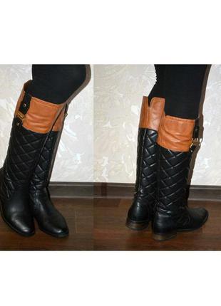 Продам модные сапоги new look 39 размер 25 см осень недорого