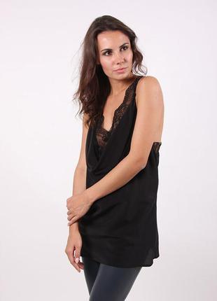 Платье-туника с кружевом на подкладке spase concept style