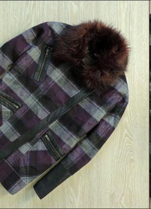 Шикарное пальто-косуха asos