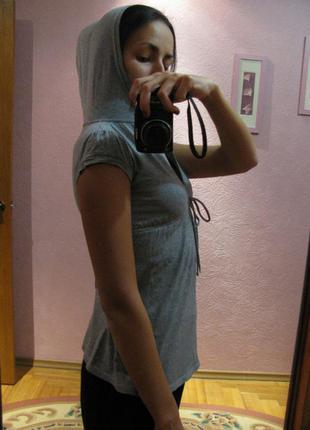 Женская кофточка с капюшоном zara