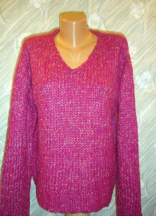 Теплый меланжевый свитер --x-mail--52- р   германия