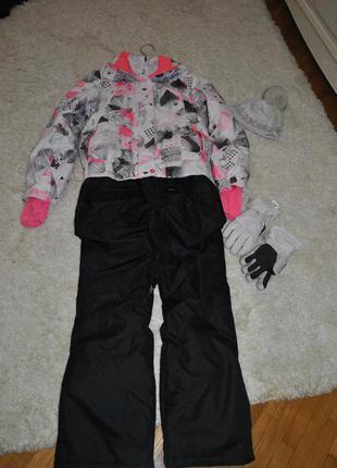 Шикарный лыжный костюм  фирмы termit размер s